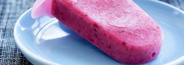 Il gelato alla fragola di Billa e Daddina