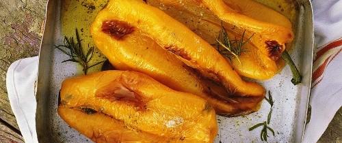 Ferragosto romano… pollo con i peperoni come da tradizione