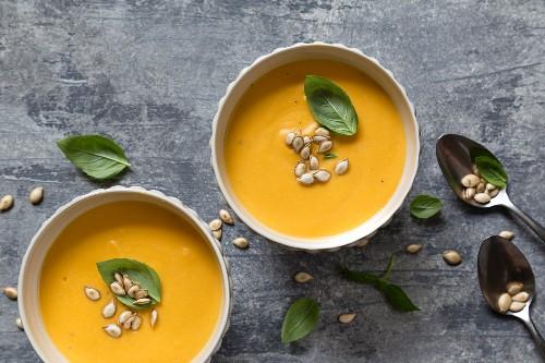 Un dolce inverno con la zuppa di zucca